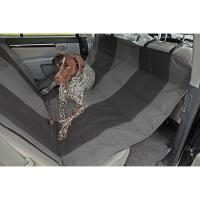 Velvet Hammock Seat Protector For SUV - Anthracite/Black