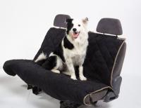 PetEgo Animal Basics Velvet Seat Cover Hammock - Black Stone