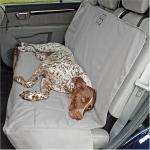 Rear Car Seat Pet Protector - SUV/Grey