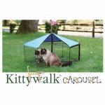 "Cat Carousel, 48"" x 24"""