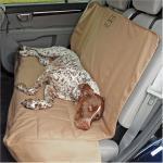 Rear Car Seat Pet Protector - SUV/Tan