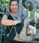 PetEgo XPack Front Carrier/Backpack for Pets, Beige