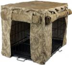 Cabana Pet Crate Cover - Small/Sicilly Bone/Peat