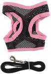 Petego Airness Harness and Leash for Dogs, X-Large, Pink