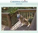 Cardinal Gates Maximum Pet Safety Gate for Top of a Stairway