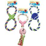 Ruffin' It Pet Products Rope Tug Toys Assortment