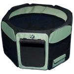 "Pet Gear Travel Lite Soft-Sided Pet Pen with Removable Top Sage 46"" x 46"" x 28"""