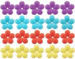 Songbird Essentials Mixed Colors Replacement Flowers (red, purple, yellow, blue)