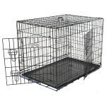 Medium Two Door Dog Crate