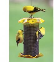 Bird's Choice 1 Qt. Yellow Nyjer Bird Feeder