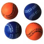 6 Pack Bouncing Sponge Softball - Blue/Orange - 12 Pieces