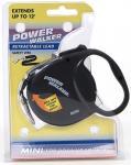 Coastal Pet Products 8702 Power Walker Retractable Lead, Black - X-Small