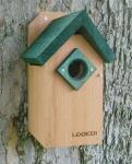 Songbird Essentials Bluebird Feeder with Green Roof