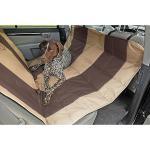 Velvet Hammock Seat Protector For SUV - Tan/Espresso