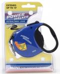 Coastal Pet Products 8702 Power Walker Retractable Lead, Blue - X-Small
