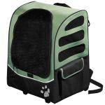 "Pet Gear I-GO Plus Traveler Carrier / Car Seat / Backpack Sage 13.5"" x 17"" x 21"""