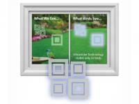 Window Alert Modern Square Decals